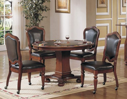 Bellagio Dining - Game Table Set - 5 Piece - CR-87148-63-5PC