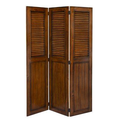 Room divider - Bahama Shutterwood - front view - CF-1181-0158