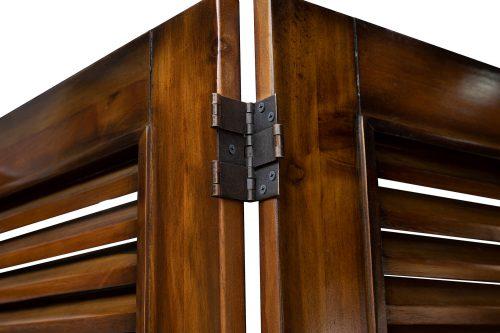 Room divider - Bahama Shutterwood - hinge detail - CF-1181-0158