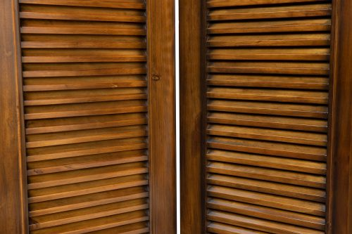 Room divider - Bahama Shutterwood - slat detail - CF-1181-0158