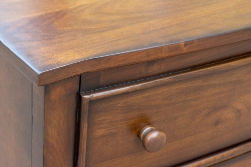 Dresser - Bahama Shutterwood - top and side detail - CF-1130-0158