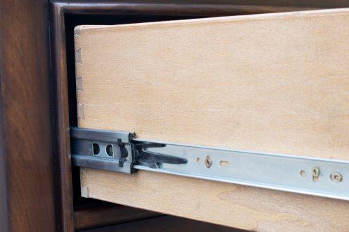 Dresser with Mirror - Bahama Shutterwood - drawer hardware - CF-1130_34-0158