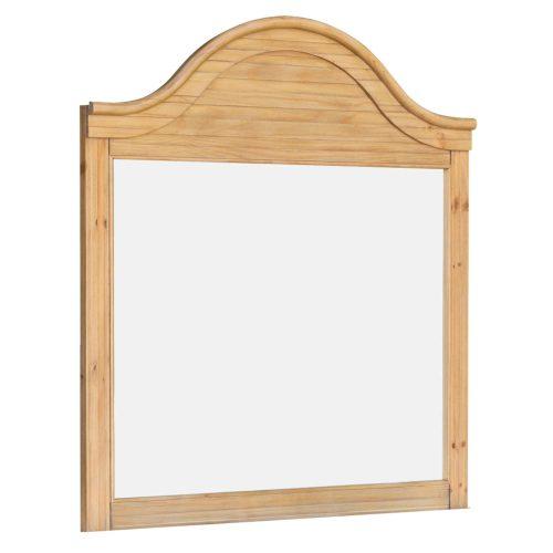 Vintage Casual Bedroom Mirror - three quarter view - CF-1234-0252