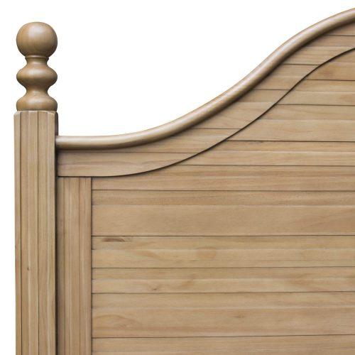 Vintage Casual King sized bed frame - headboard detail - CF-1202-0252-KB