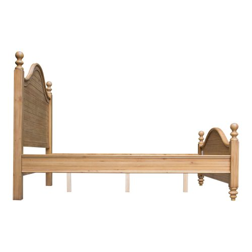 Vintage Casual Queen sized bed frame - side view - CF-1201-0252-QB