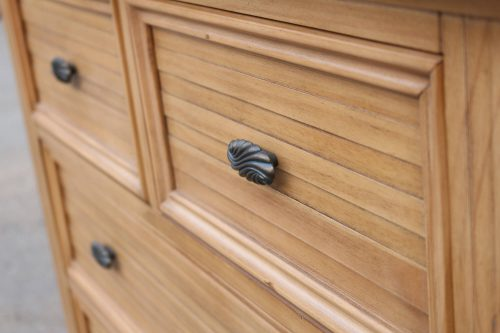 Vintage Casual Six Drawer Chest - drawer detail - CF-1241-0252