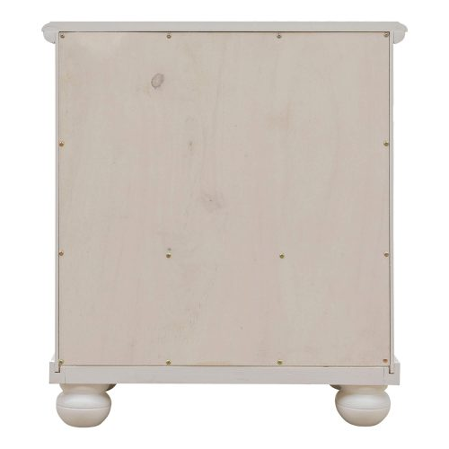 Ice Cream at the Beach collection - Nightstand End Table - back view - CF-1737-0111