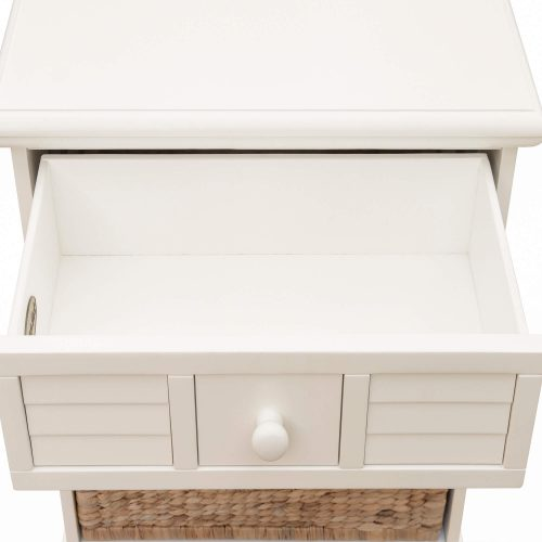 Ice Cream at the Beach collection - Nightstand End Table - drawer open - CF-1737-0111
