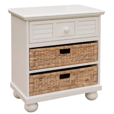 Ice Cream at the Beach collection - Nightstand End Table - three quarter view - CF-1737-0111