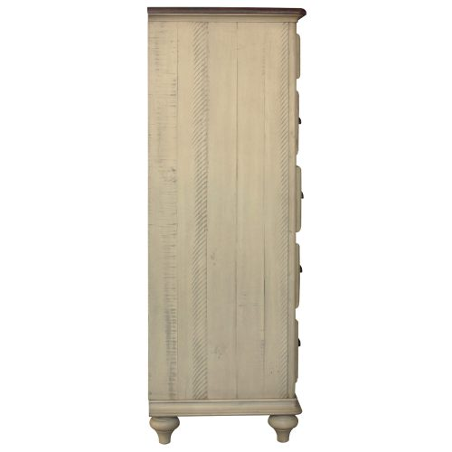 Shades of Sand - Six drawer Chest - Side view - CF-2341-0490