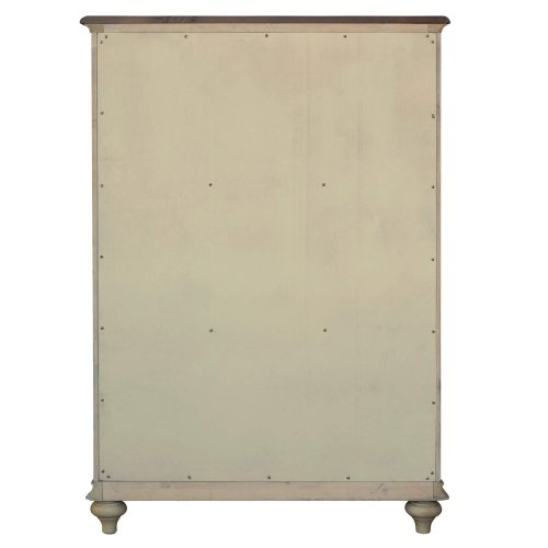 Shades of Sand - Six drawer Chest - back view - CF-2341-0490