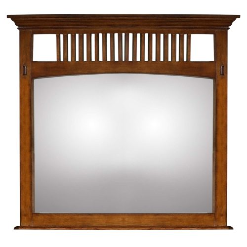 Tremont Bedroom Collection - Bedroom mirror front view SS-TR750-MR