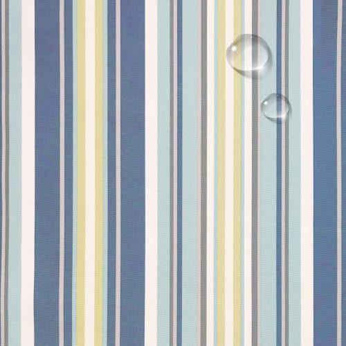 Slipcovered Seaside Beach Striped fabric 395245