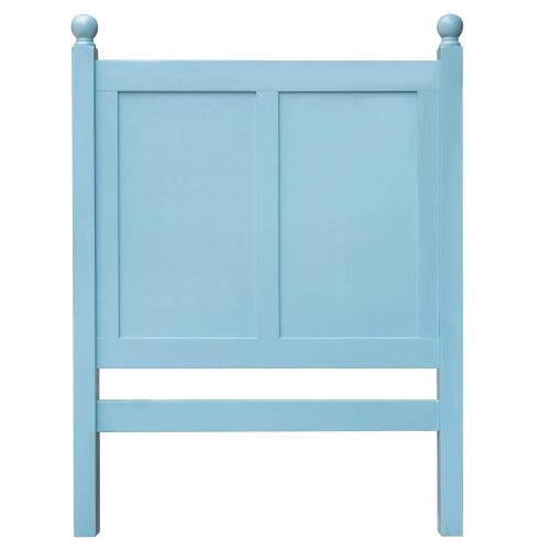 Ice Cream at the Beach Collection - Twin side bed frame - headboard back view - CF-1703-0156-TB