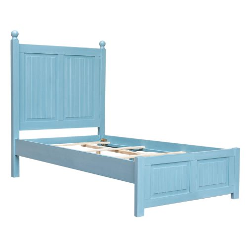 Ice Cream at the Beach Collection - Twin side bed frame - three quarter view - CF-1703-0156-TB