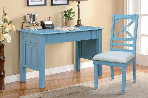 Ice Cream at the Beach collection - Vanity Desk with Chair - 0156 Finish - Bedrrom setting - CF-1786-0156