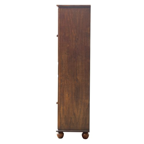 Tall Cabinet with Drawer - Bahama Shutterwood - side view - CF-1145-0158