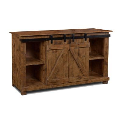 Console - Rustic Brown - Three quarter view - HH-2975-060