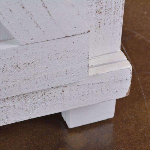 Console - Rustic White - Detail of construction - HH-2130-060