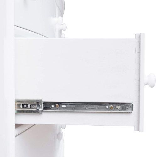 Dresser with Mirror - drawer hardware - CF-1130-34-0150