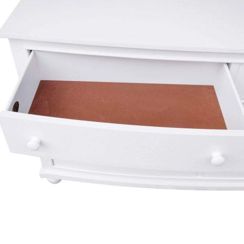 Dresser with Mirror - top drawer open - CF-1130-34-0150