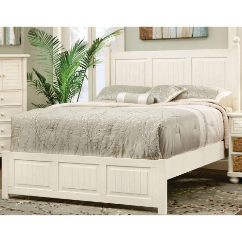 King size bed frame - Ice Cream At The Beach Collection - Bedroom view - CF-1702-0111-KB