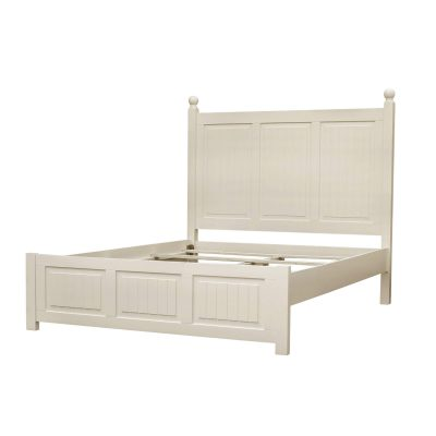 King size bed frame - Ice Cream At The Beach Collection - Three quarter view - CF-1702-0111-KB