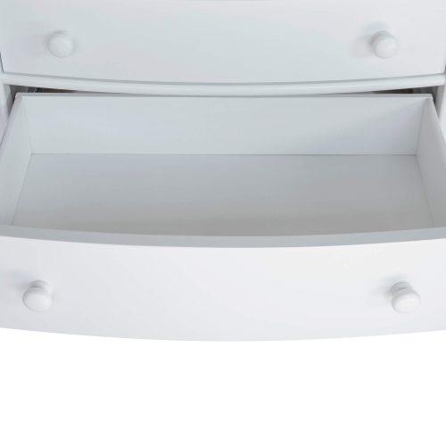 Nightstand - 3 Drawers - bottom drawer open - CF-1136-0150