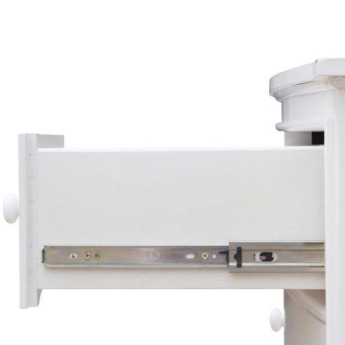Nightstand - 3 Drawers - drawer hardware - CF-1136-0150