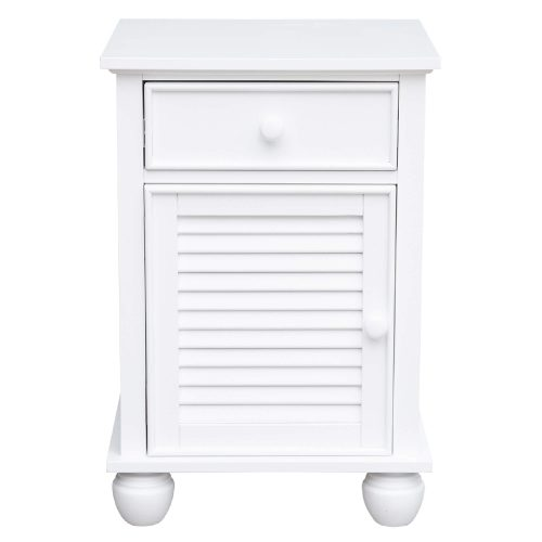 Nightstand with drawer - front view - CF-1137-0150