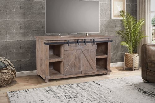 Rustic Gray Collection Console - HH-2115-060 - Living setting