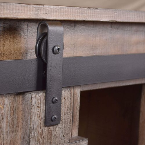 Rustic Gray Collection Console - Hardware detail - HH-2115-060