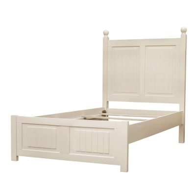 Twin size bed frame - Ice Cream At The Beach Collection - Three quarter view - CF-1703-0111-TB