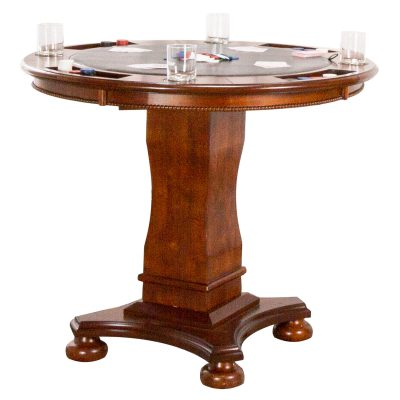 Bellagio Collection - Counter height dining and game - CR-87148-TCB
