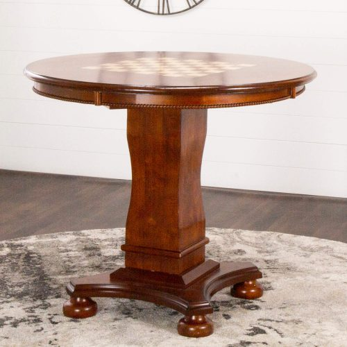 Bellagio Collection - Counter height dining and game - chess side setting - CR-87148-TCB