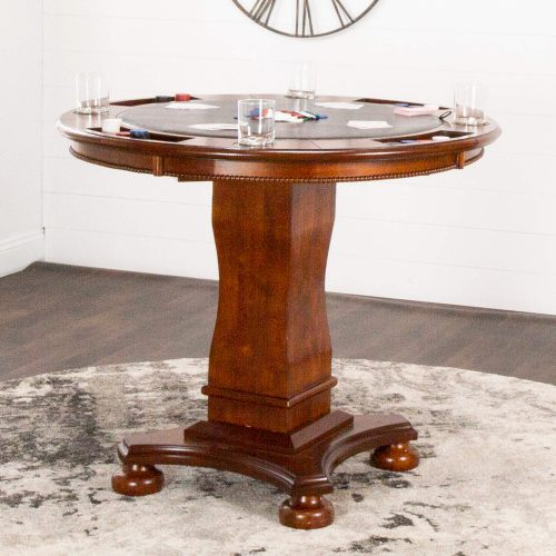 Bellagio Collection - Counter height dining and game - poker side setting CR-87148-TCB