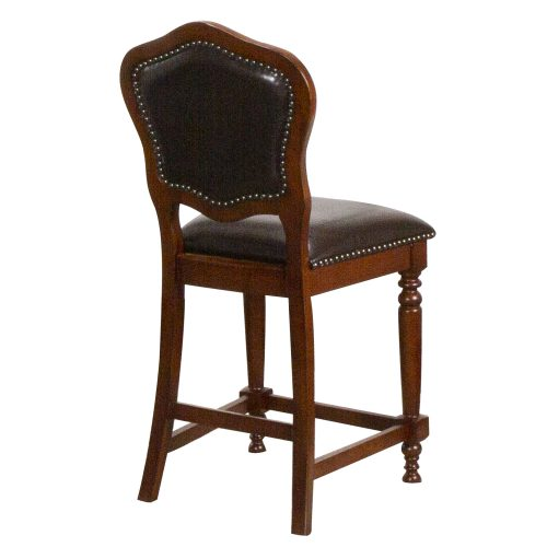 Bellagio Matching Game counter stools - back view - CR-87148-24