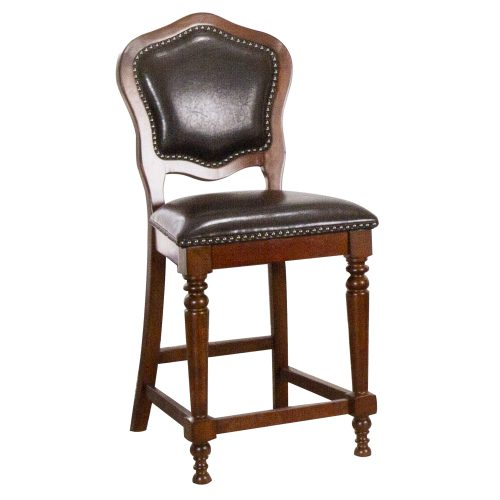 Bellagio Matching Game counter stools - front view - CR-87148-24