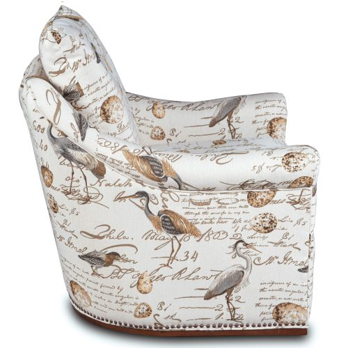 Birdscript Swivel Chair - Side view - SU-1593-93-854825