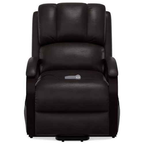 Boost Power Lift Recliner in Espresso - front view - SY-1337-89-2340-89
