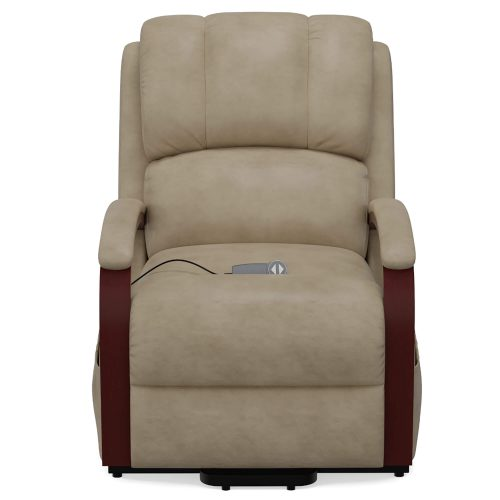 Boost Power Lift Recliner in Taupe - front view - SY-1337-89-2340-82