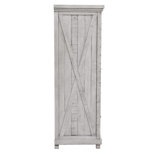 Crossing Barn Collection - Five drawer Chest - side view - CF-4141-0786