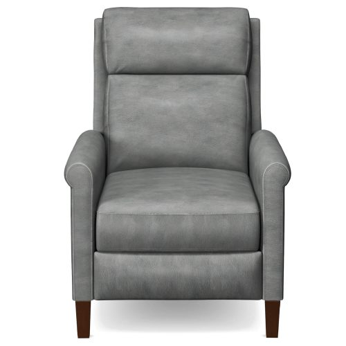 Ethan Pushback Recliner shown in Light Gray - Front view - SY-1916-86-9102-90