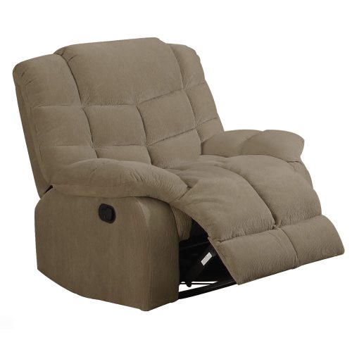 Heaven on Earth Collection - Reclining armchair - three-quarter view partial recline- SU-HE330-105