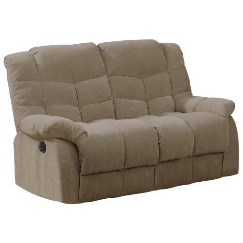 Heaven on Earth Collection - Reclining loveseat - Three-quarter view - SU-HE330-205