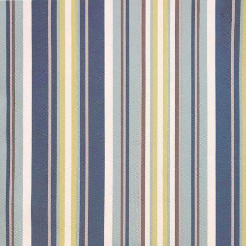 Horizon Slipcovered Box Cushion - Swivel Rocking Chair - Beach Striped - fabric swatch - SU-114993-395245