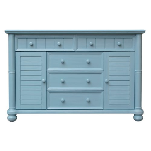 Ice Cream at the Beach Collection - Dresser - 0150 finish - front view - CF-1730-0156