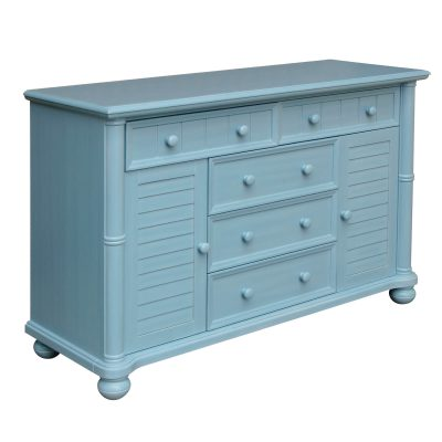 Ice Cream at the Beach Collection - Dresser - 0150 finish - three quarter view - CF-1730-0156