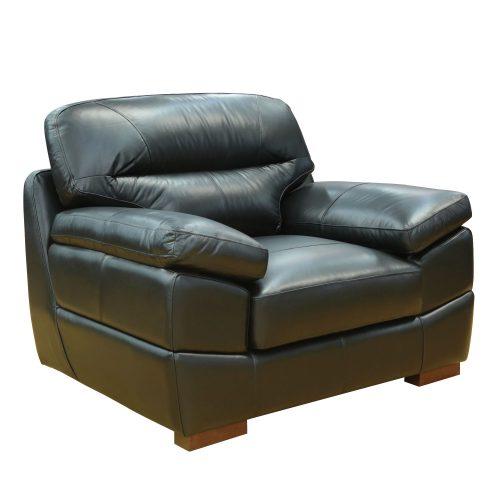Jayson Chair in Black - Three quarter view - SU-JH3780-101SPE