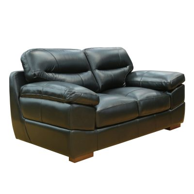 Jericho Loveseat in Black - Three quarter view - SU-JH3780-200SPE